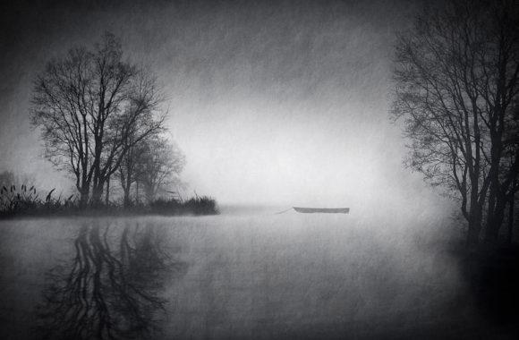 Lake in Gray