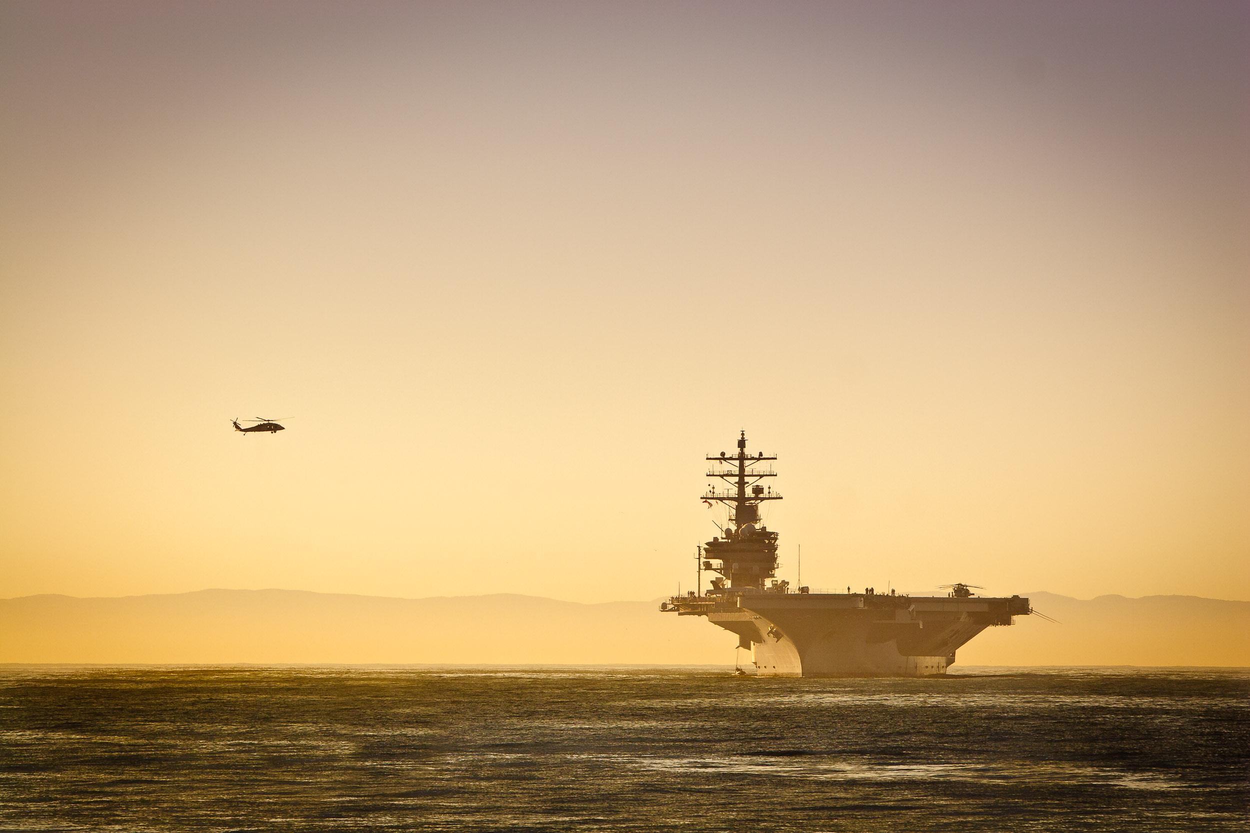 USS Ronald Reagan, Santa Barbara, CA
